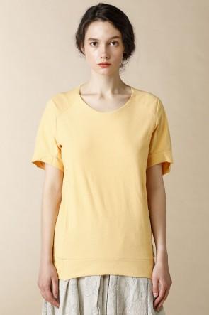 individual sentiments18SSユニセックス ウーブン ラグラン Tシャツ ストーングレイ