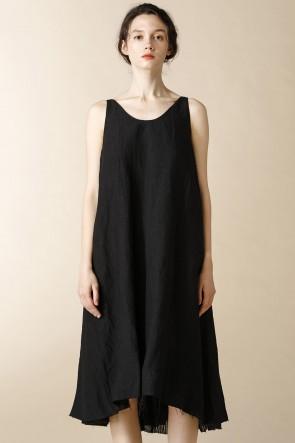 individual sentiments17SSウィメンズ ウーブン ノースリーブ ドレス