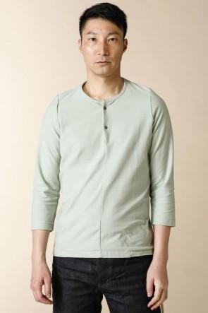 individual sentiments18SSユニセックス ウーブン 7部袖 Tシャツ