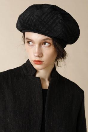 individual sentiments18-19AWユニセックス ウーブン ベレー帽