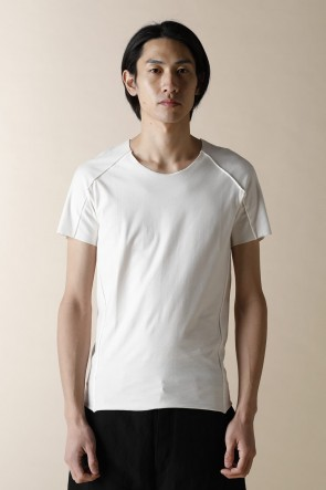 individual sentiments 16-17AW UNISEX WOVEN BASIC T-SHIRTS WHITE