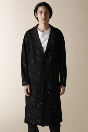 individual sentiments 18SS UNISEX WOVEN LONG CARDIGAN