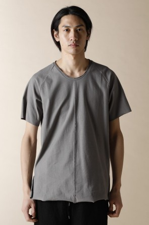 individual sentiments 18SS UNISEX WOVEN  RAGLAN T-SHIRTS STONE GRAY