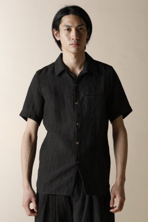 individual sentiments 18SS UNISEX WOVEN ONE POCKET SHORT SLEEVE SHIRTS