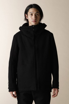 individual sentiments 16-17AW UNISEX WOVEN ZIP UP HOODIE ZIP UP BLOUSON