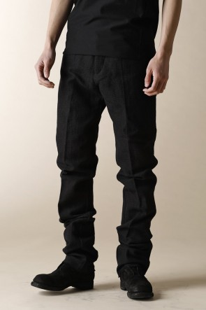 individual sentiments 17-18AW UNISEX WOVEN 5 POCKET STRAIGHT PANTS