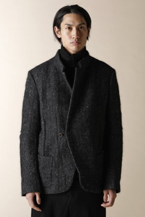 individual sentiments16-17AWUNISEX WOVEN STAND COLLAR JACKET