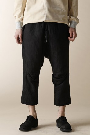 individual sentiments17SSUNISEX WOVEN CROPPED EASY PANTS