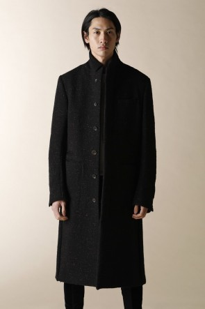 individual sentiments 19-20AW MEN'S WOVEN CHESTER COAT