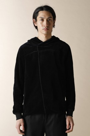 individual sentiments 17-18AW UNISEX WOVEN PULL OVER PARKA BLACK