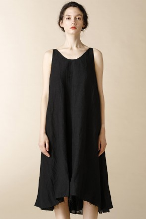 individual sentiments 17SS WOMEN'S WOVEN NO SLEEVE DRESS