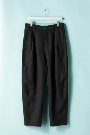 individual sentiments 21SS UNISEX WIDE TUCK PANTS - LI14