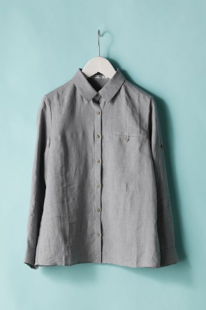 individual sentiments 21SS WOMEN'S WOVEN ONE POCKET SHIRTS - LI12