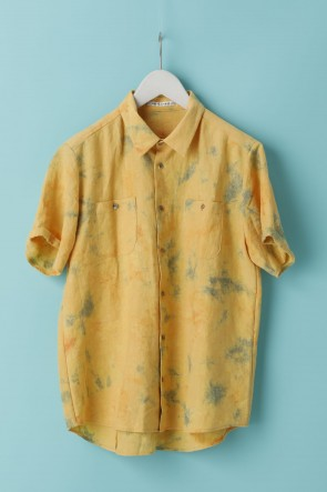 individual sentiments 21SS UNISEX WOVEN SHORT SLEEVE WIDE SHIRTS - LI18