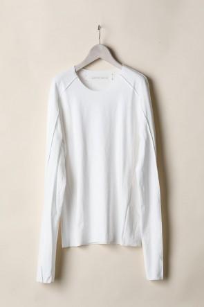 individual sentiments21-22AWBASIC LONG SLEEVE T-SHIRTS  -White