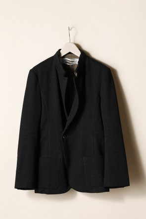 individual sentiments21-22AWSTAND NECK ONE BUTTON JACKET