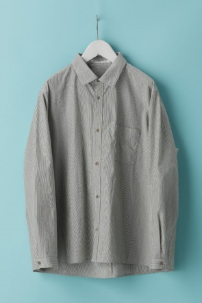individual sentiments21SSUNISEX WOVEN LOSE SILHOUETTE SHIRTS - LC18