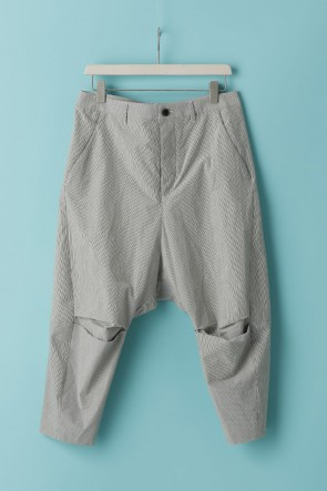individual sentiments21SSUNISEX WOVEN CROPPED PANTS - LC18 Ecru