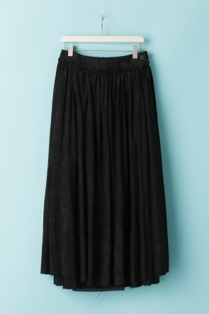 individual sentiments 21SS WOMEN'S WOVEN LAYERED GATHER SKIRT - CU2W