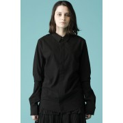 UNISEX WOVEN BASIC SHIRTS-Black-0