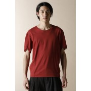 UNISEX WOVEN BASIC T-SHIRTS CARNIVAL RED-Carnidal Red-2