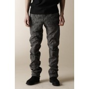 MEN'S WOVEN ANKLE ZIP ADJUSTMENT PANTS-Sumi Gray-2