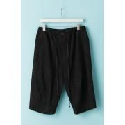 UNISEX WOVEN SHORT PANTS - CU2W-Mottled Black-2