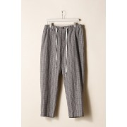 EASY WIDE PANTS-Brown Yellow-2