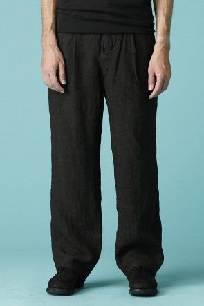 individual sentiments 17SS UNISEX WOVEN WIDE STRAIGHT PANTS