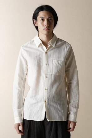 individual sentiments 17SS UNISEX WOVEN ONE POCKET SHIRTS