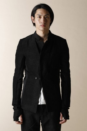individual sentiments12-13AWUNISEX WOVEN ONE BUTTON JACKET 11/1F-MW2