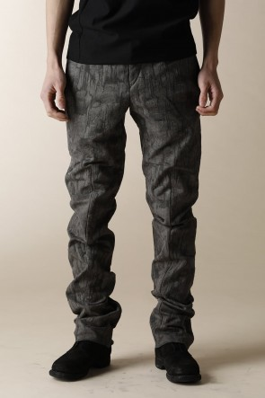 individual sentiments 16-17AW MEN'S WOVEN ANKLE ZIP ADJUSTMENT PANTS