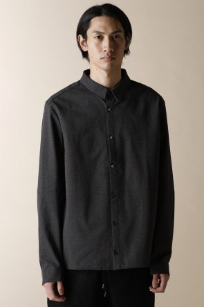 individual sentiments12-13AWUNISEX WOVEN HIGH TINY COLLAR SHIRTS