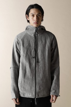 individual sentiments12-13AWUNISEX WOVEN ZIP UP PARKA