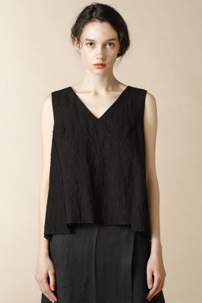 individual sentiments 16SS WOME'S WOVEN NO SLEEVE BLOUSE