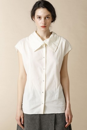 individual sentiments12SSWOMEN'S WOVEN FRENCH SLEEVE HIGH SHIRTS