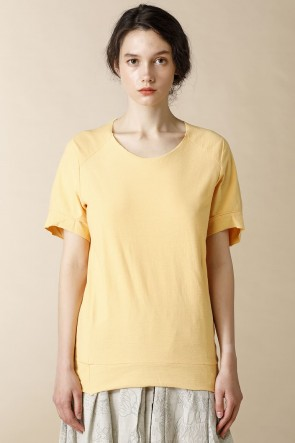 individual sentiments 18SS UNISEX WOVEN  RAGLAN T-SHIRTS Nefle Orange