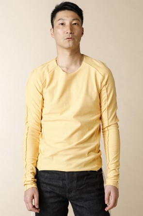 individual sentiments 18SS UNISEX WOVEN  LONG SLEEVE T-SHIRTS Nefle Orange