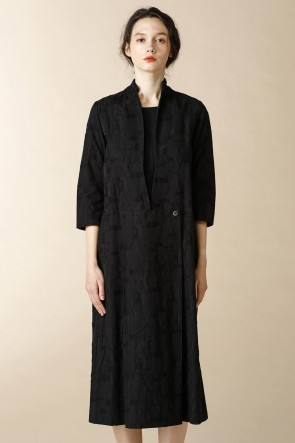 individual sentiments 16-17AW WOMEN'S WOVEN FRONT PARTS DETACHABLE DRESS