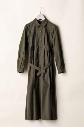 individual sentiments21-22AWWOMEN'S LONG PLEATS SHIRTS DRESS