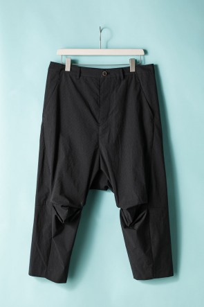 individual sentiments 21SS UNISEX WOVEN CROPPED PANTS - LC18
